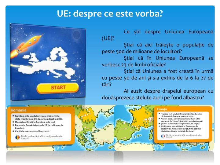 UE: despre ce este vorba?