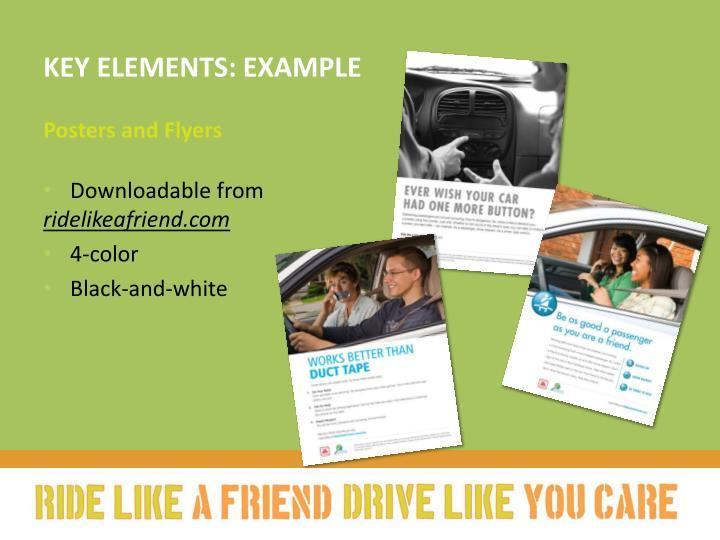 Key elements: example