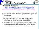what is research9
