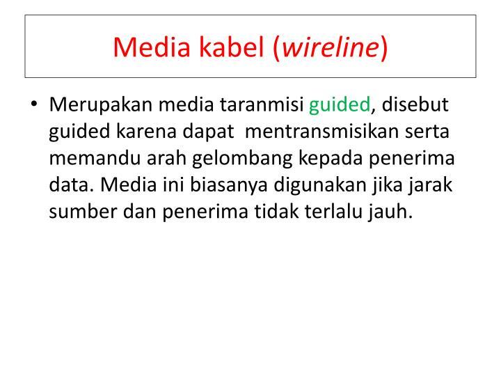 Media kabel (