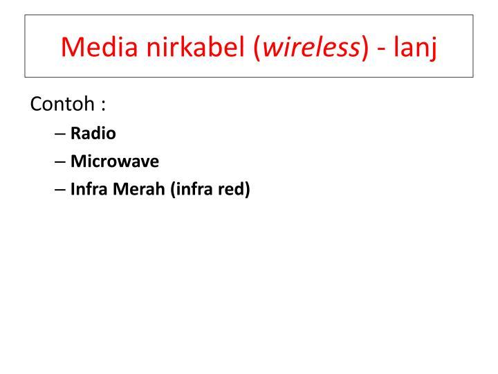 Media nirkabel (