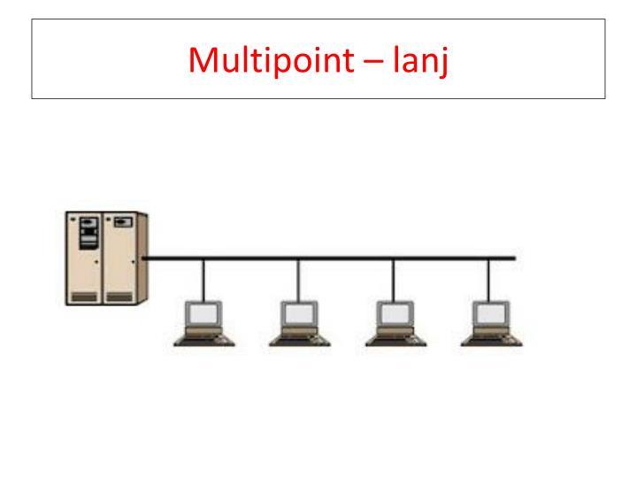 Multipoint – lanj