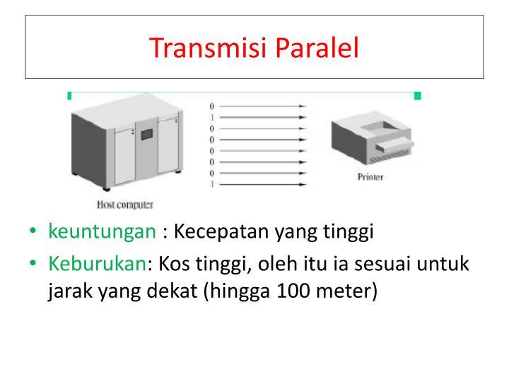 Transmisi Paralel
