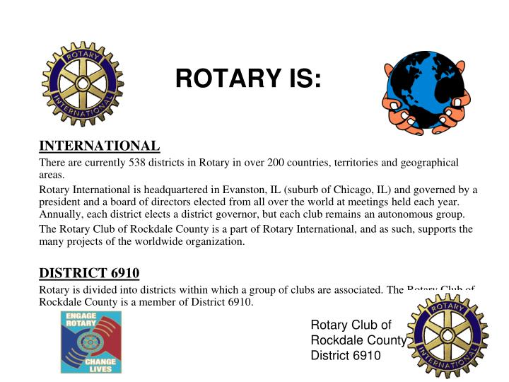 Rotary is