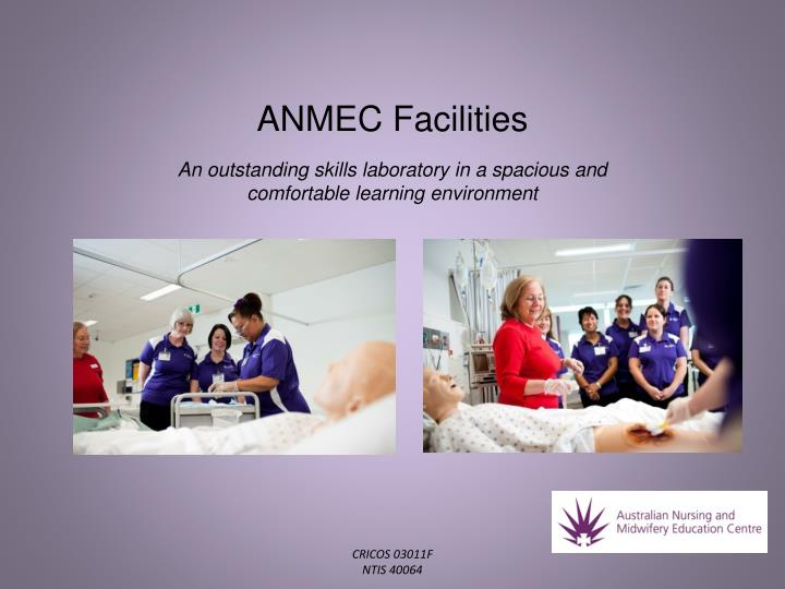 ANMEC Facilities