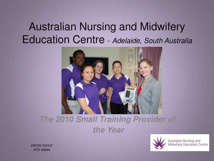 Australian nursing and midwifery education centre adelaide south australia