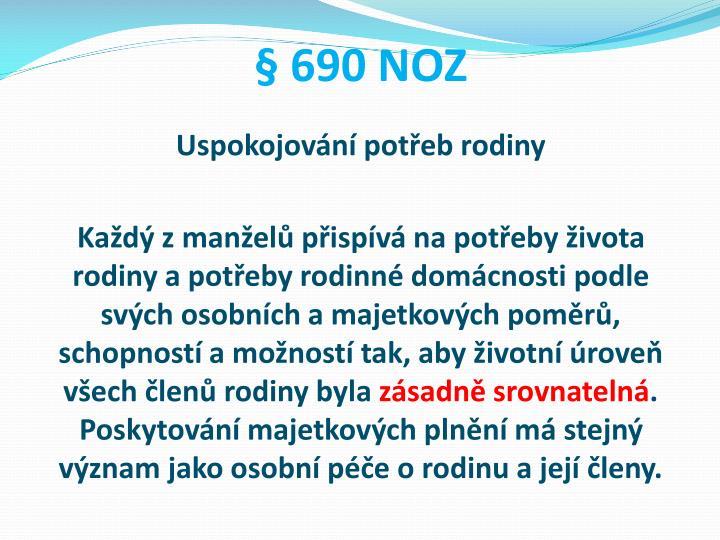 § 690 NOZ