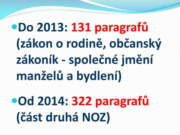 Do 2013: