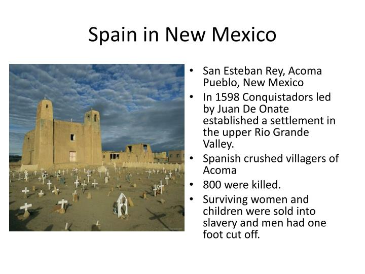 Spain in New Mexico