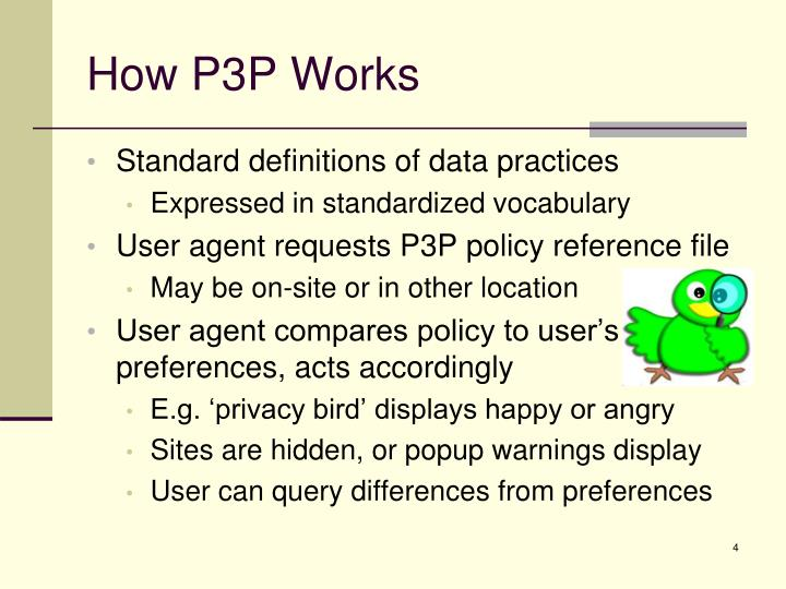 How P3P Works