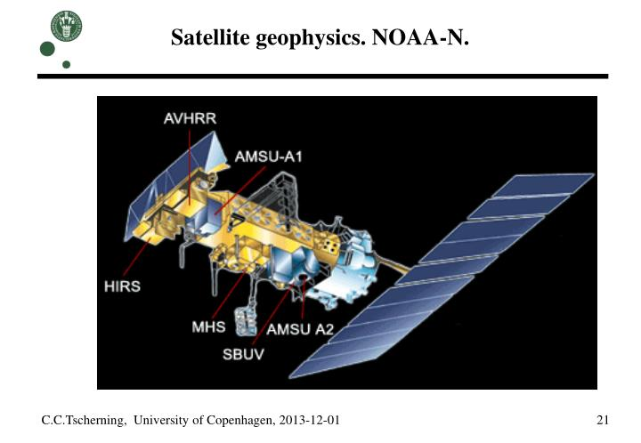 Satellite geophysics. NOAA-N.