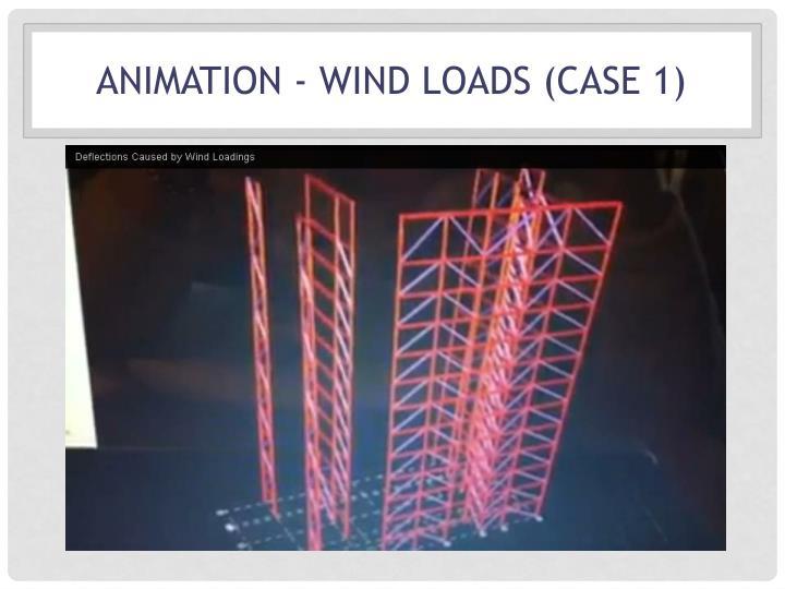 Animation - Wind Loads (CASE 1)