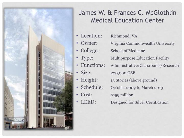James W. & Frances C.