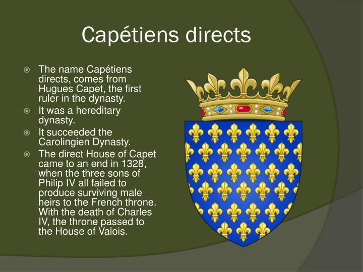 Capétiens