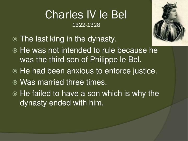 Charles IV le