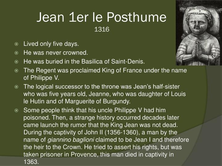 Jean 1er le