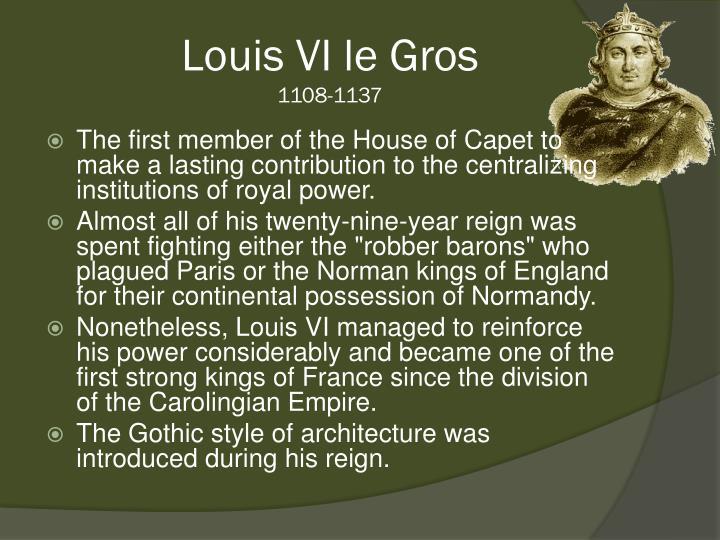 Louis VI le