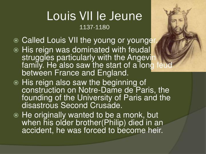 Louis VII le