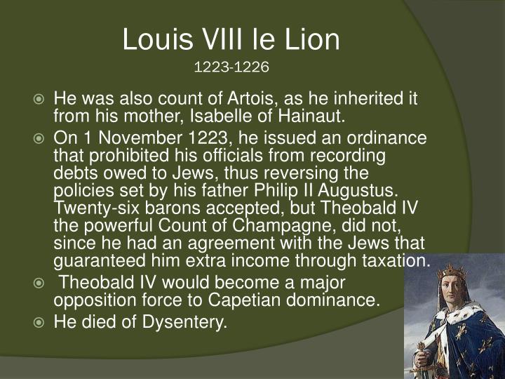 Louis VIII le Lion