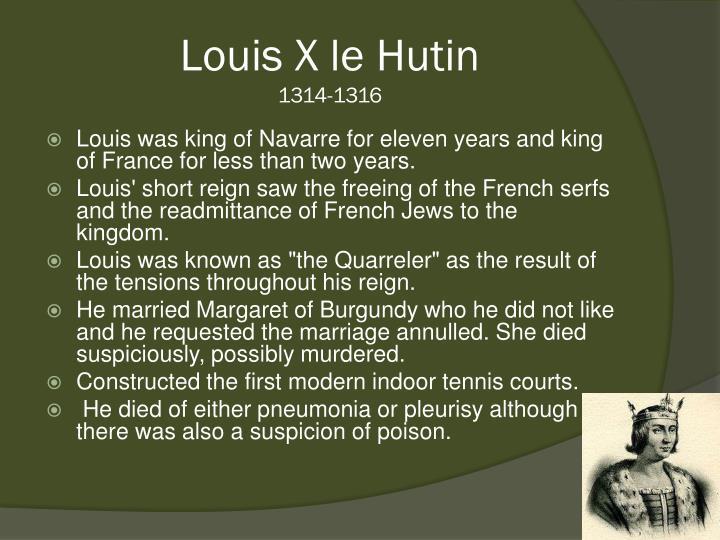 Louis X le