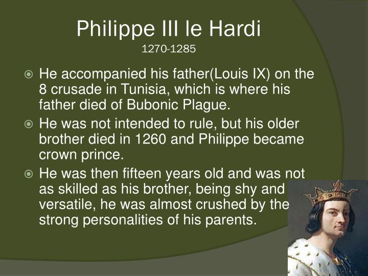 Philippe III le