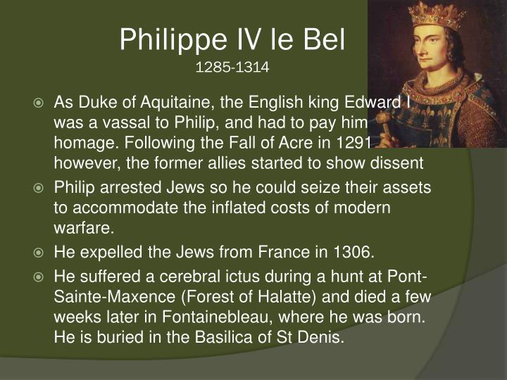 Philippe IV le