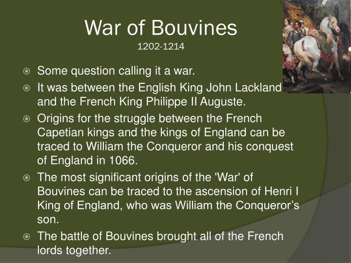 War of Bouvines