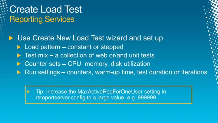 Create Load Test