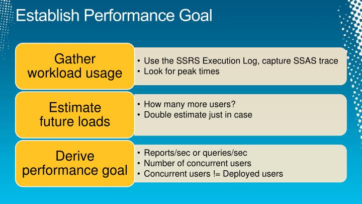 Establish Performance Goal