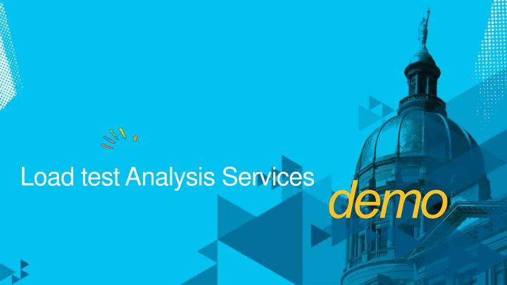 Load test Analysis Services