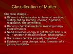 classification of matter2