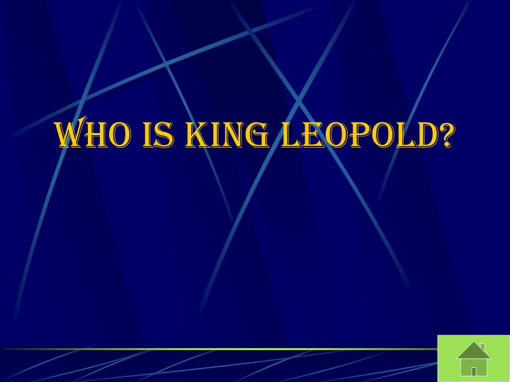 Who is King