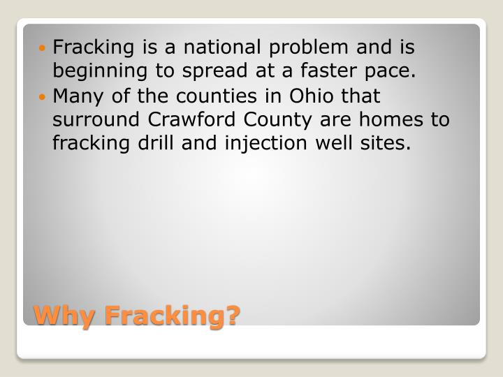 its a fracking problem For all the fear about the potential for deep underground water contamination due to the hydraulic fracturing process used in shale gas extraction, there's.