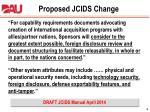 proposed jcids change