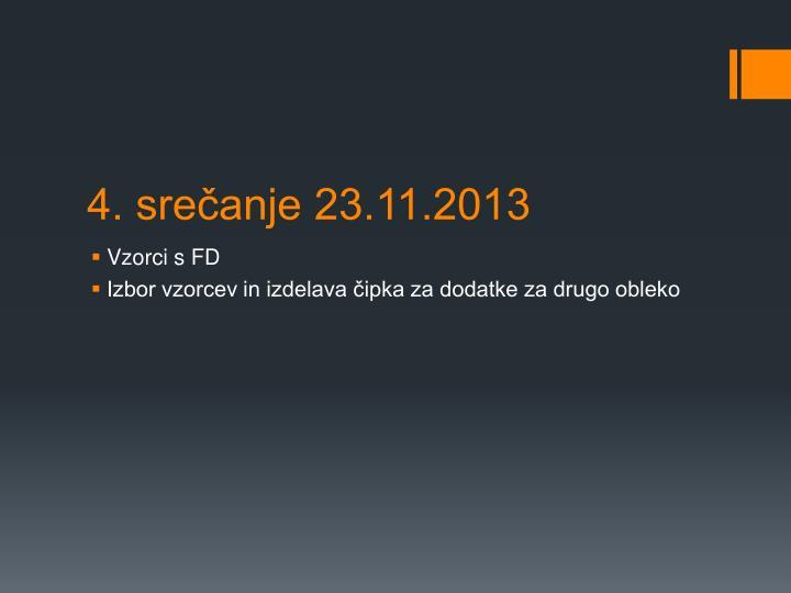 4. srečanje 23.11.2013