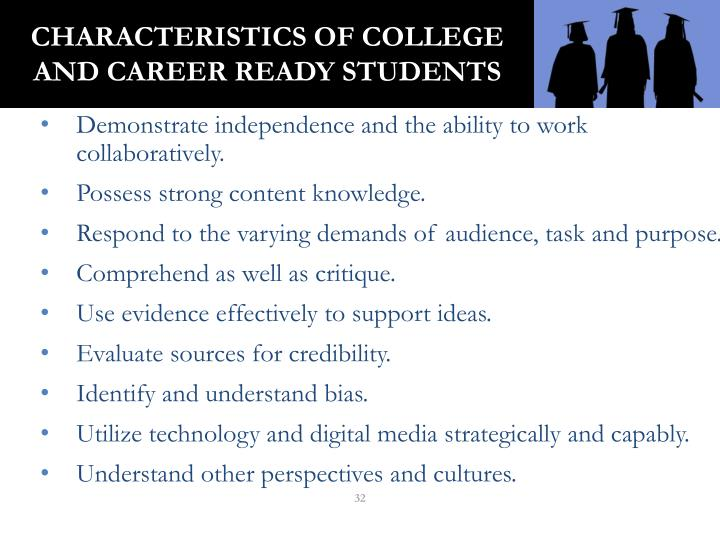 Characteristics of College