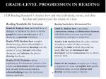 grade level progression in reading1