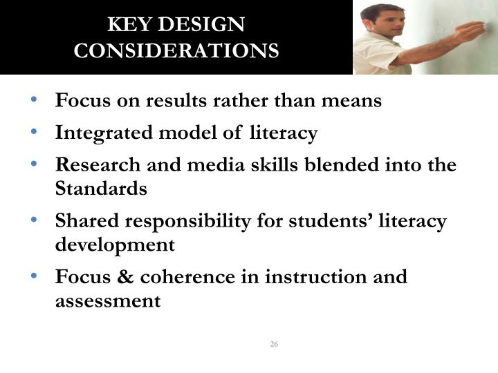 Key Design Considerations