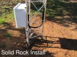 solid rock install