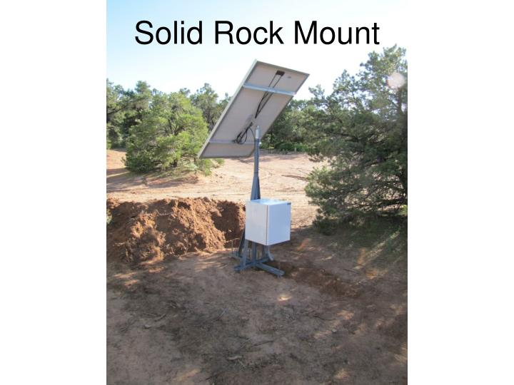 Solid Rock Mount