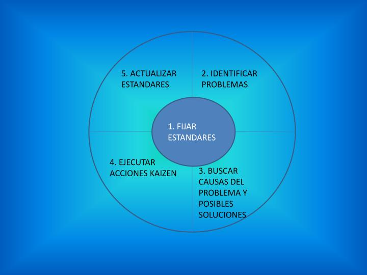 5. ACTUALIZAR ESTANDARES