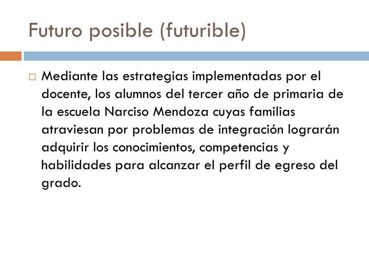 Futuro posible (futurible)