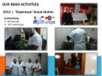 our main activities3