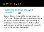 32 bit vs 64 bit13