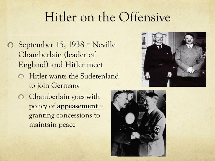 Hitler on the Offensive