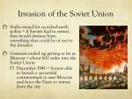 invasion of the soviet union1