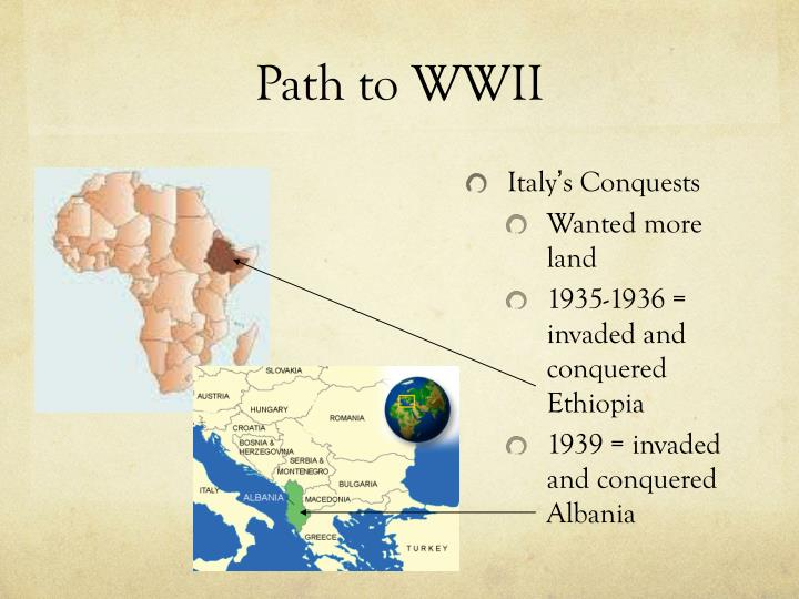 Path to wwii