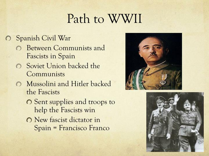 Path to wwii1