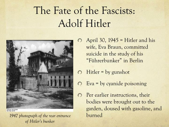 The Fate of the Fascists: