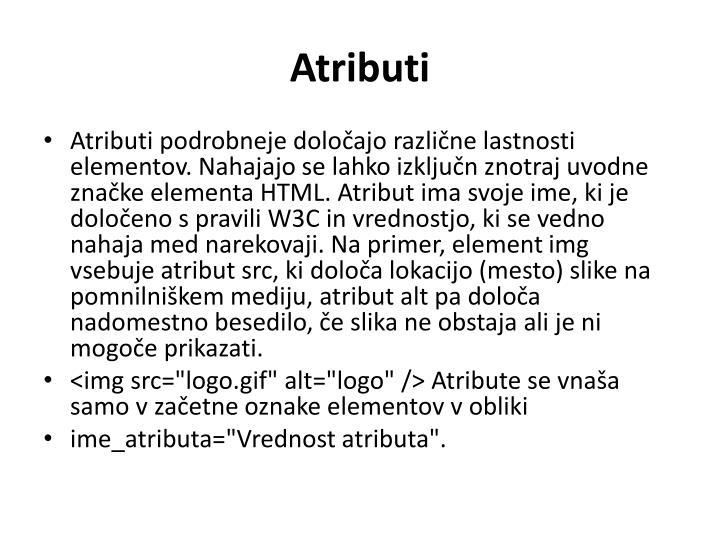 Atributi
